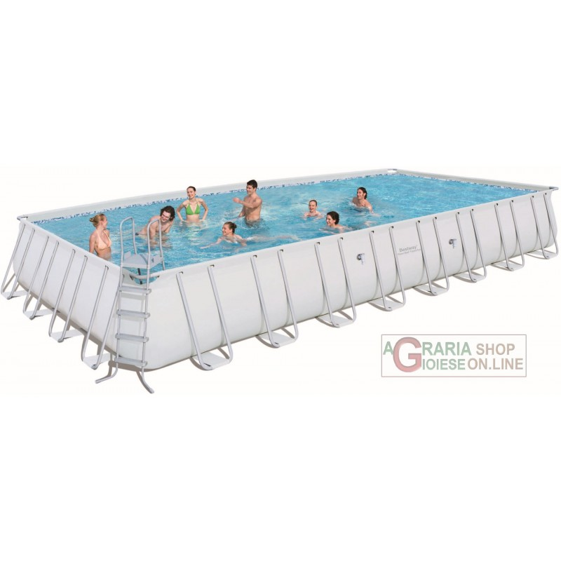 BESTWAY POOL FRAME POWER STEEL FRAME CM. 956x488x132h. 56338