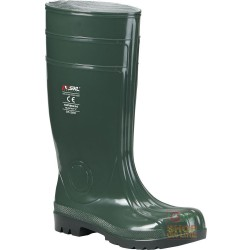 PVC BOOT TOE CAP AND FOIL COLOR GREEN TG 39 48