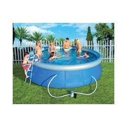BESTWAY INFLATABLE SWIMMING POOL COMPLETE DIAM. CM.457X107 mod.