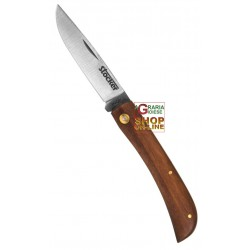 STOCKER FOLDING KNIFE HUNTING M WOODEN HANDLE BLADE STAINLESS
