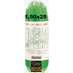STOCKER NETWORK FOR CLIMBING MT. 1.50 X 25 GREEN