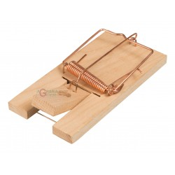 STOCKER RAT TRAP WITH WOODEN BASE 1 PCS GREAT