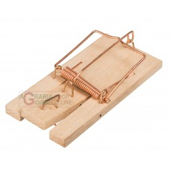 STOCKER MOUSETRAP WITH A WOOD BASE 2 PCS SMALL