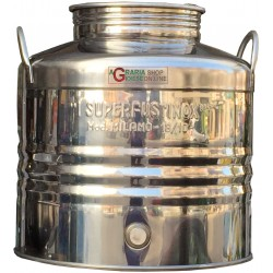 SUPERFUSTINOX CONTAINER STAINLESS STEEL MOD. MILAN LT. 30 LOW