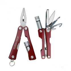 SWISSTECH MINI MULTI-PLIERS KEYCHAIN IN STAINLESS STEEL
