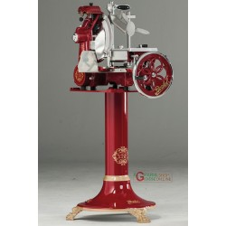 MANUAL SLICER BERKEL FLYWHEEL TRIBUTE VLTRIB RED WITH STAND