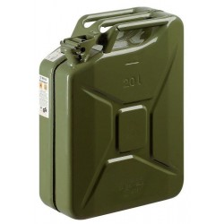 TANK, METAL FUEL APPROVED GREEN LT. 20