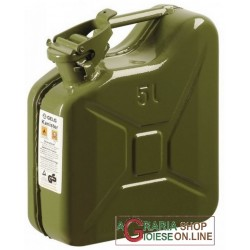 TANK, METAL FUEL APPROVED GREEN LT. 5