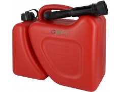 TANK FOR FUEL TRANSPORT GASOLINE OIL MIXTURE TWICE THE USE FOR