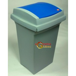 TATA BIN RECYCLING LT. 50 BLUE