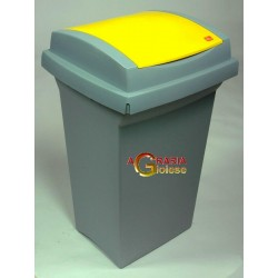 TATA BIN RECYCLING LT. 50 YELLOW