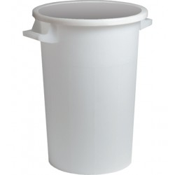 BIN WHITE WITHOUT COVER LT.120
