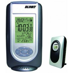 THERMOMETER BAROMETER DIGITAL WITH REMOTE SENSOR WIRELESS