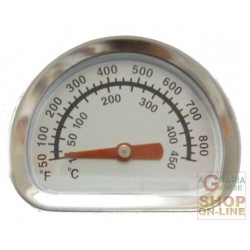 THERMOMETER REPLACEMENT FOR GAS BARBECUE AND OVEN ER8203-8206C
