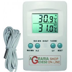 THERMOMETER FOR INCUBATORS WITH DIGITAL PROBE TO MEASURE THE