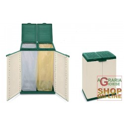 TERRY THE DUSTBIN AND 2 DOORS CM.68X39X87H ECO CAB2