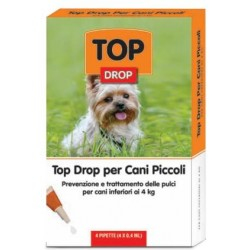 TOP DROP SMALL DOGS UNDER 4 KG.