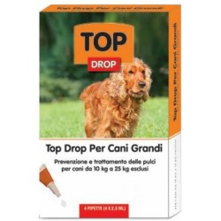 TOP DROP PIPPETTE FOR DOGS, LARGE 10 TO 25 KG