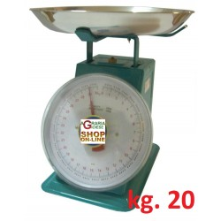 BALANCE HOUSE OLD STYLE WITH THE ALUMINUM POT KG. 20