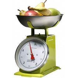 KITCHEN SCALE WITH FLAT ALUMINIUM OLD STYLE SUPRELLE KG. 5