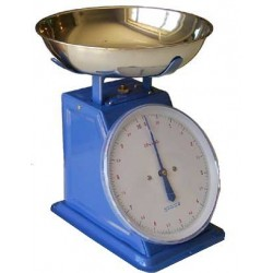 KITCHEN SCALE WITH FLAT ALUMINIUM OLD STYLE SUPRELLE KG. 50