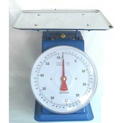 KITCHEN SCALE WITH FLAT PLATE STEEL OLD STYLE SUPRELLE KG. 50