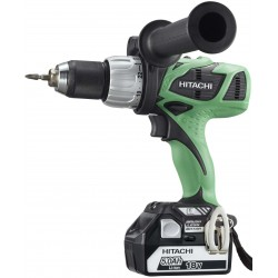 DRILL driver WITH PERCUSSION HITACHI DV18DBL 18V 5Ah WITH 2