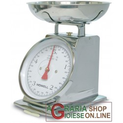 KITCHEN SCALE MECHANICAL OLD-STYLE CHROME-PLATED KG. 5