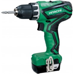 DRILL DRIVER HITACHI DS10DAL WITH 2 BATTERIES BATTERY LI-ION