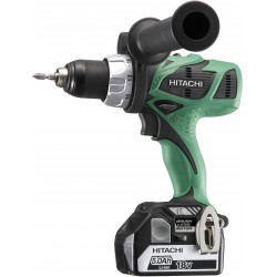 DRILL driver HITACHI DS18DBL 18V 5Ah WITH 2 LITHIUM BATTERIES