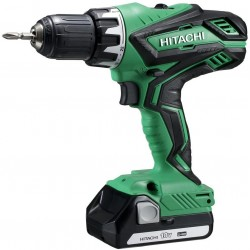 DRILL driver HITACHI DS18DJL 18V 1.5 Ah WITH 2 LITHIUM