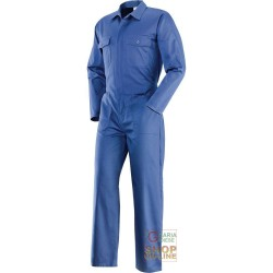 SUIT 65% POLYESTER 35% COTTON MEN'S BLUE TG 46 62