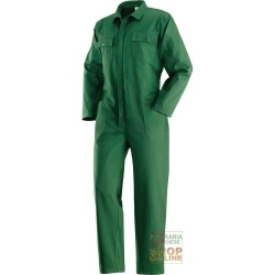 JUMPSUIT WITH ZIPPER SUPERMASSAUA GR 270 COLOR GREEN TG 46 64