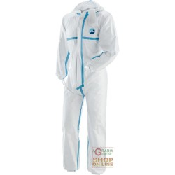 COVERALLS TYVEK WITH HOOD WELDED SEAMS TG M-L-XL-XXL