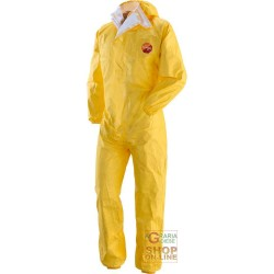 SUIT TYVEK YELLOW HEAT-SEALED HOODED TG M-L-XL-XXL