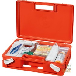 CASE IN POLYPROPYLENE FIRST AID ANNEX 2 BASIC ORANGE COLOR DIM