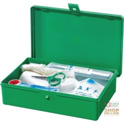 CASE EYEWASH D EMERGENCY GREEN COLOR