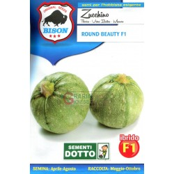 BISON SEEDS OF MARROW ROUND BEAUTY F1 HYBRID