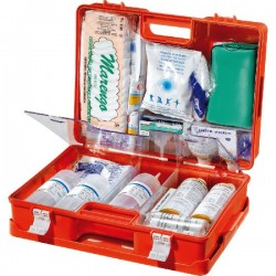 The carrying CASE, FIRST AID DRESSING IN ABS MED P4