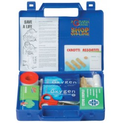 BRIEFCASE FIRST AID TRAVEL KIT CAR CAMPER VAN