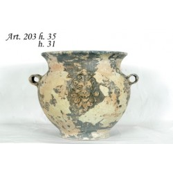 VASE CERAMIC GASPO H. 35 ART.203 the MEDITERRANEAN