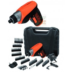BLACK AND DECKER CORDLESS SCREWDRIVER LITHIUM 3.6 V SVITAAVVITA