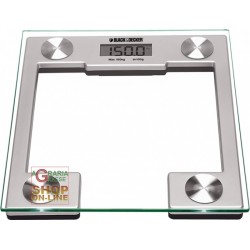 BLACK AND DECKER BATHROOM SCALES MOD. BK30