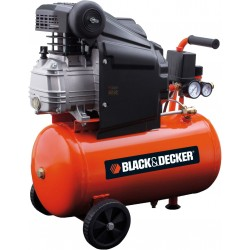 BLACK AND DECKER COMPRESSOR, 220V Mod. BD 205/24 HP. 2,0 LT. 24