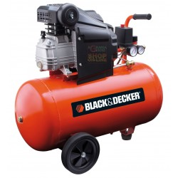 BLACK AND DECKER COMPRESSOR, 220V Mod. BD 205/50 HP. 2,0 LT. 50