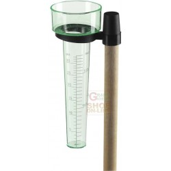 VERDEMAX RAIN GAUGE TO MEASURE RAINFALL UP TO 35 L/SQM