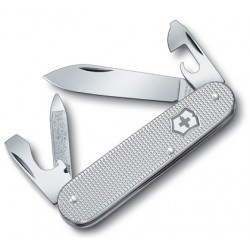 VICTORINOX CADET DISPLAY SILVER ALUMINUM HANDLE
