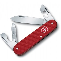VICTORINOX CADET DISPLAY, RED ALUMINIUM HANDLE