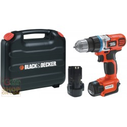 BLACK AND DECKER DRILL DRIVER BATTERY LITHIUM EGBL108KB-QW