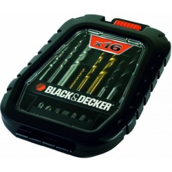 BLACK DECKER ART.A7186 GIFT SET 16 PZ.